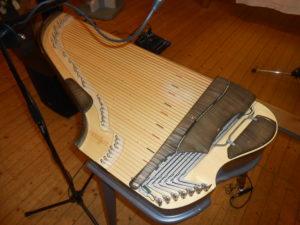 die Kantele, das finnische Nationalinstrument