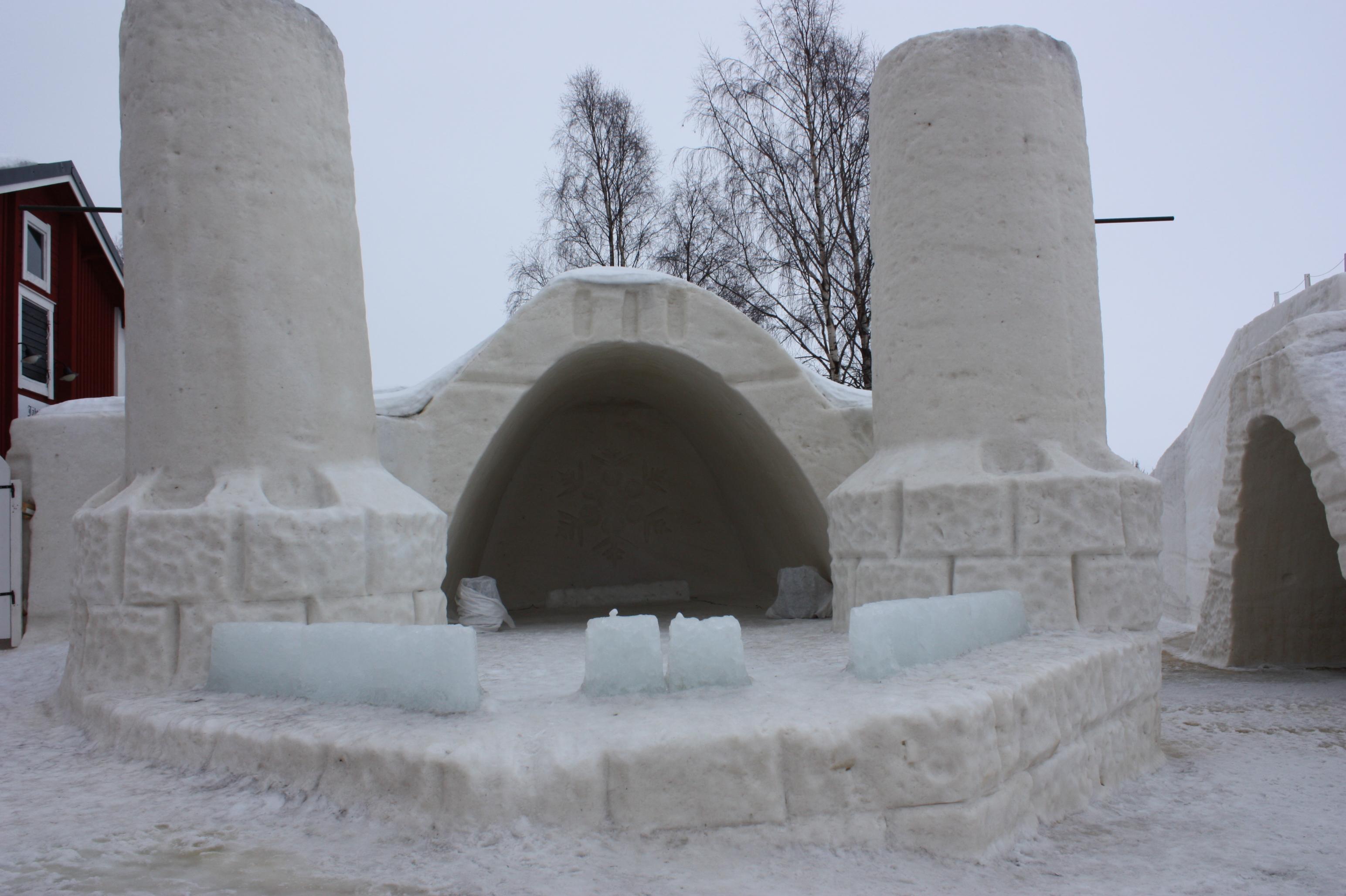 Das Eishotel in Kemi 2014 &copy Alexandra Bernhardt