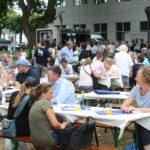 Besucher des Sommerfests 2017