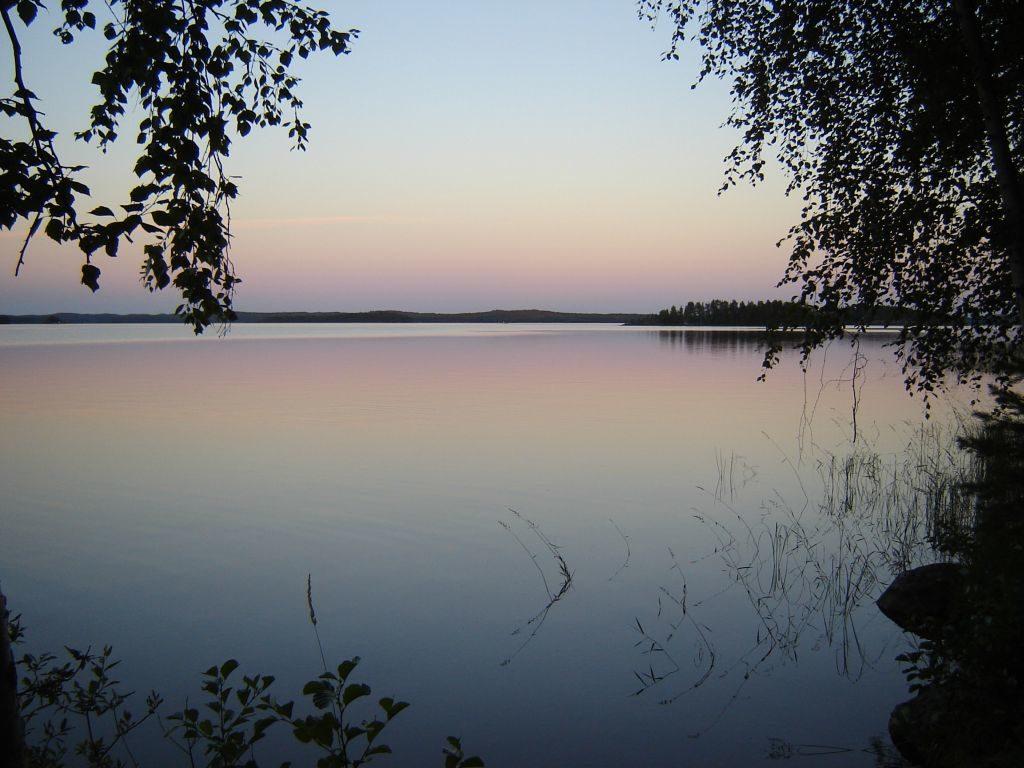 Abendstimmung am Haapaselkä