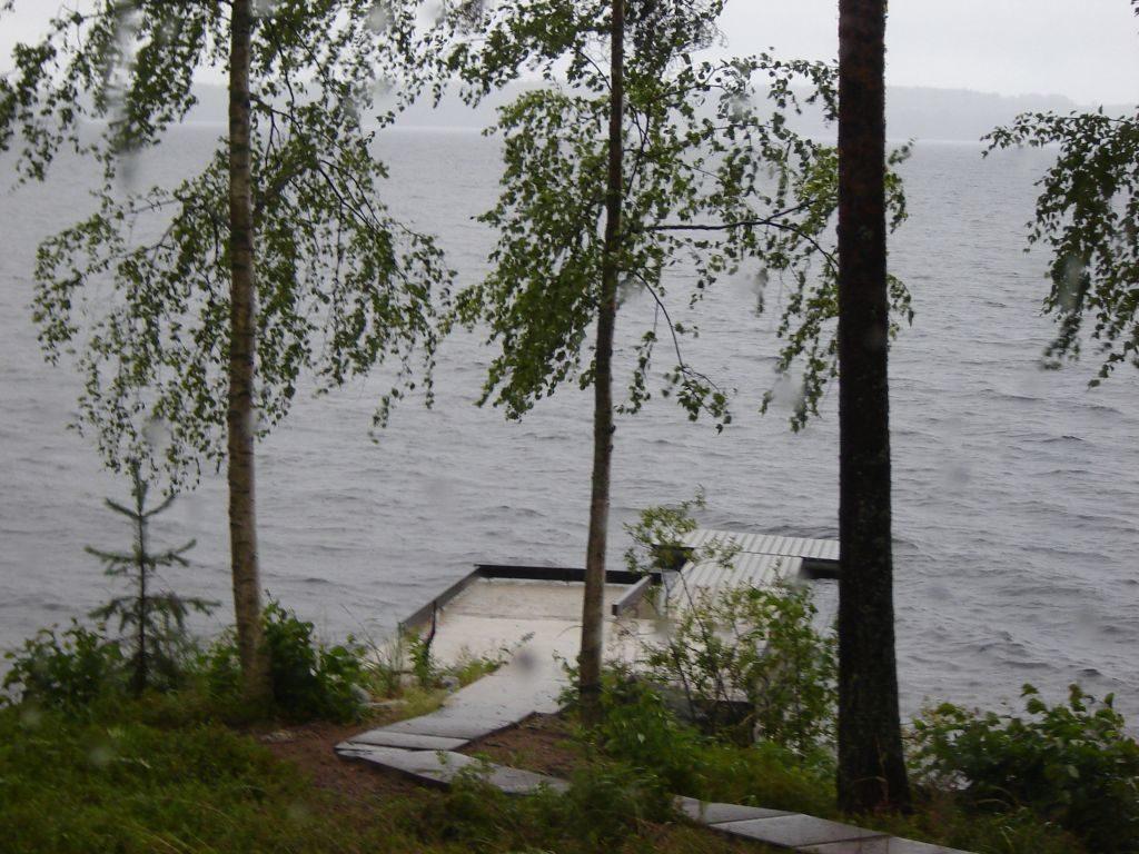 Der Haapaselkä im Saimaa kann manchmal auch ungemütlich sein