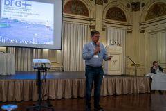 (Matthias Göbel)  Harry Skoutajan berichtet über die Aktivitäten des Landesvereins Hessen.