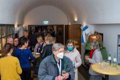 (Matthias Göbe) Sektempfang zur Abendveranstaltung im Andechser Wiesbaden