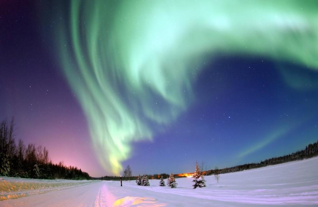 Polarlicht - Quelle: VisitFinnland
