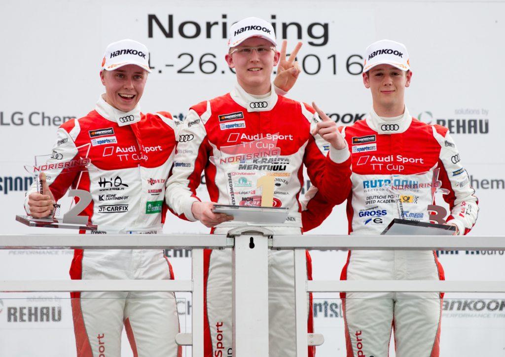 Emil Lindholm (FIN), Joonas Lappalainen (FIN), Dennis Marschall (D)