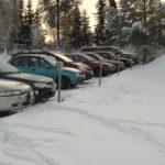 Autos an der Ladstation