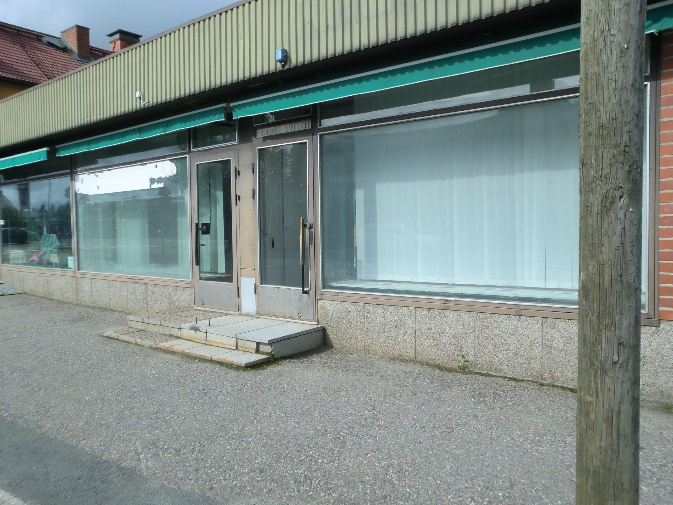 leere Geschäfte in Kuusamo