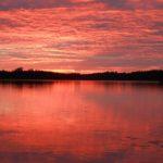 Sonnenuntergang bei Viitasaaari