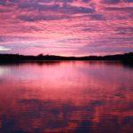 Lila Sonnenuntergang