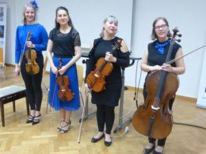 Mentel: Das Loisto-Quartett
