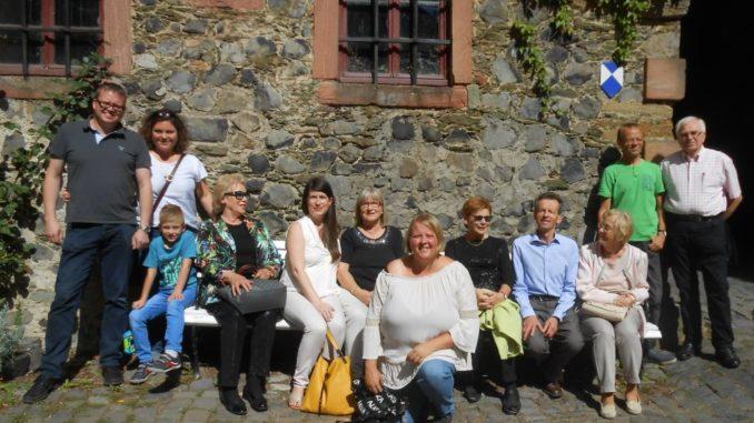 Bezirksgruppe Giessen/Wetzlar im Schloss Braunfels