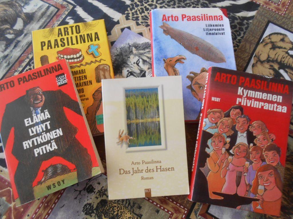 Paasilinnas Bücher