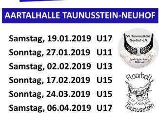 Heimspieltage Saison 2018 2019